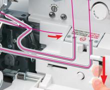 Systém okamžitého vzduchového navlékání Jet-Air Threading™